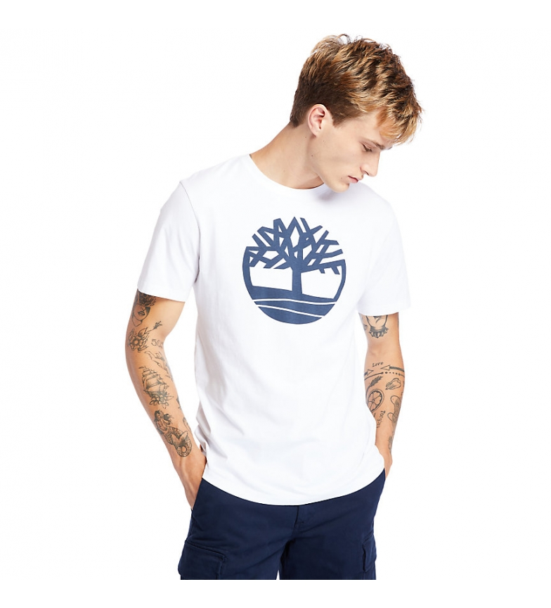 Comprar Timberland Camiseta Kennebec River Brand Tree blanco