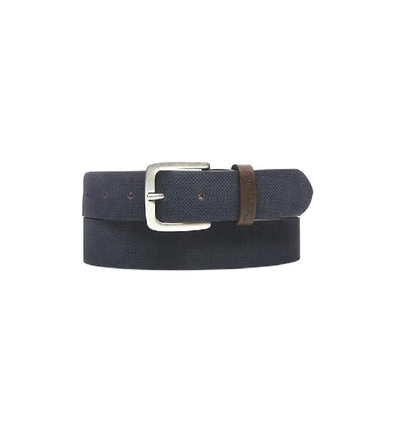 Comprar Timberland Cinturón de piel 0A1BYJ4101 marino