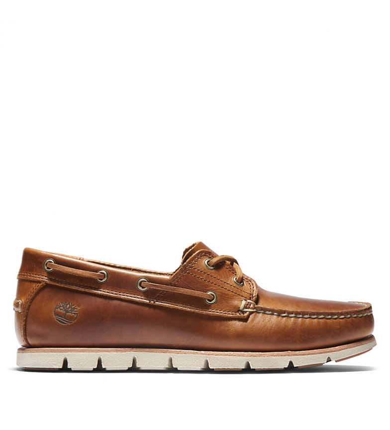 Comprar Timberland Chaussures nautiques en cuir Tidelands Classic 2 Eye brown