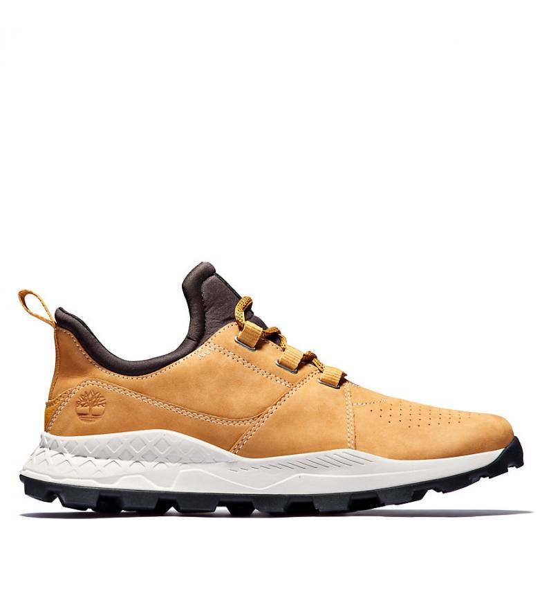 Comprar Timberland Brooklyn Lace Oxford Sapatos de Couro de Mostarda