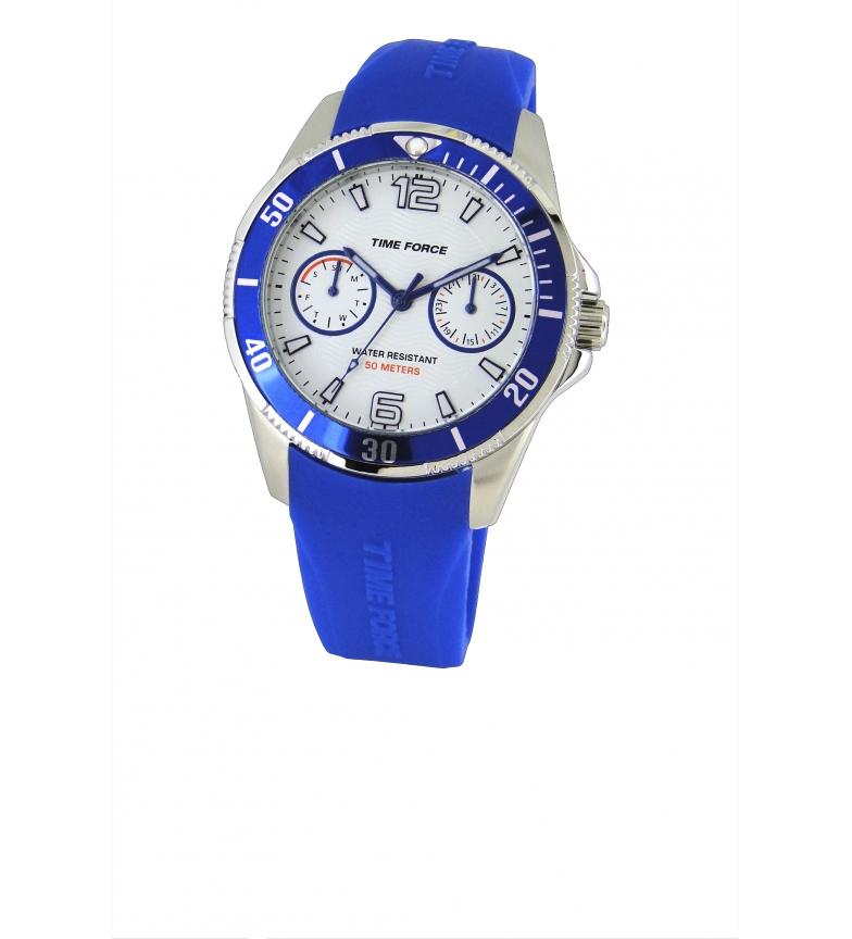 Comprar Time Force Montre chronographe analogique TF4110B13 bleu