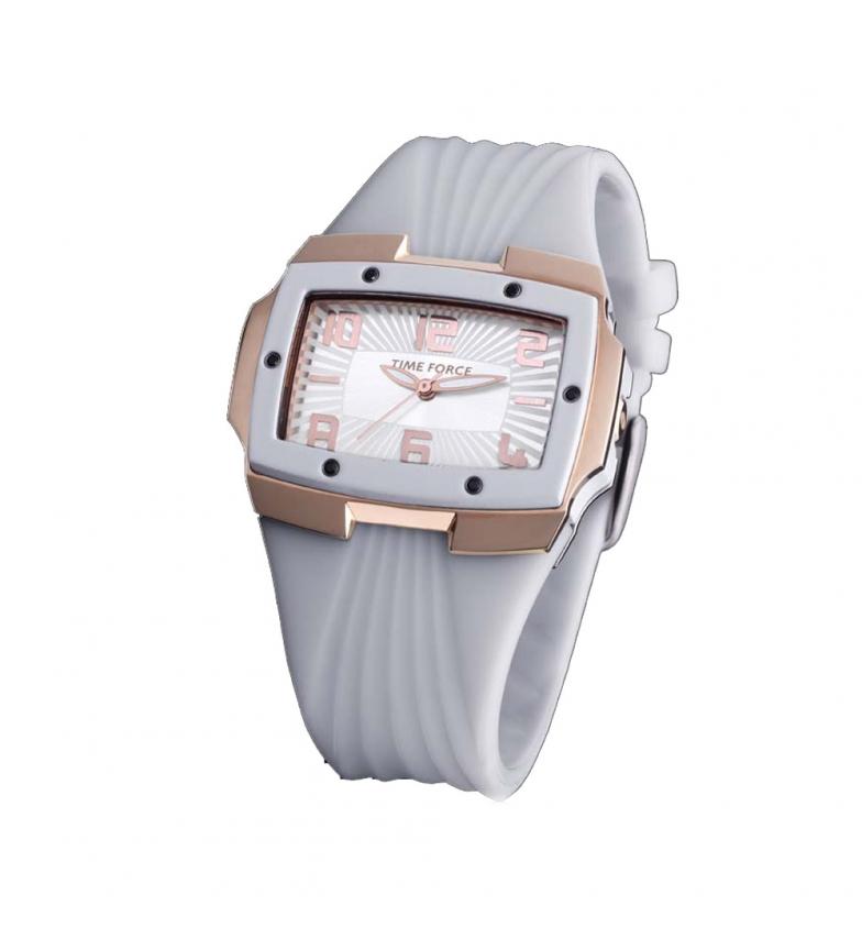 Comprar Time Force Analog clock TF3135L11 white