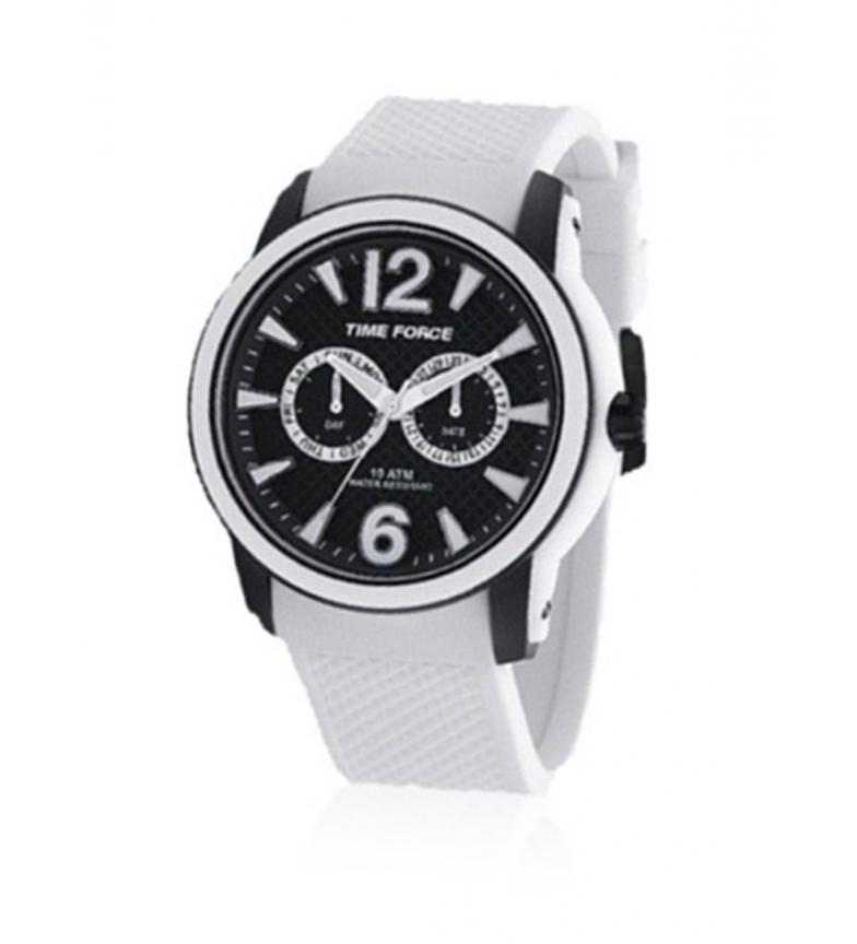 Comprar Time Force Relógio cronógrafo analógico TF4182M18 branco