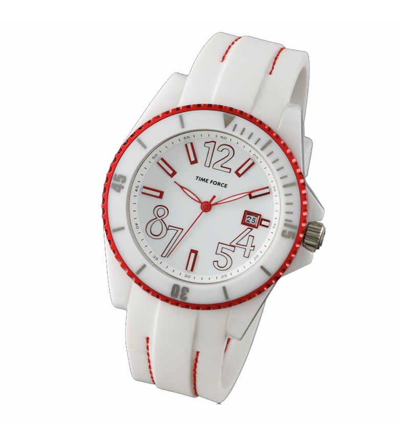 Comprar Time Force Reloj analógico TF4186L05 blanco