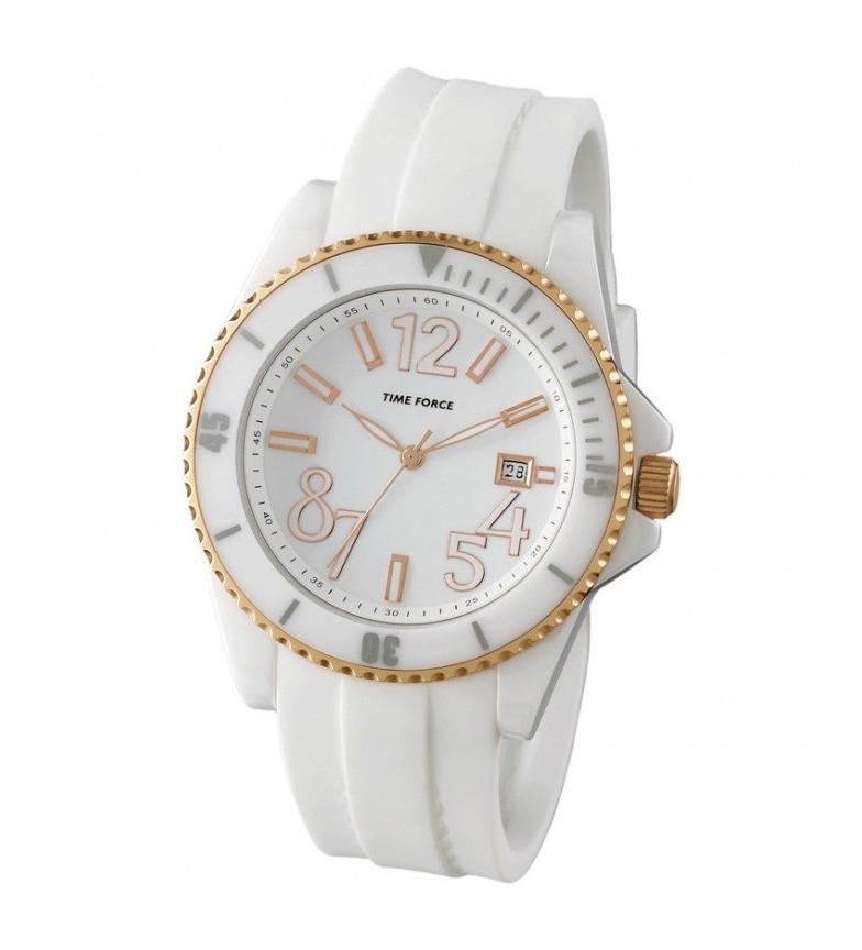 Comprar Time Force Analog clock TF4186L11 white