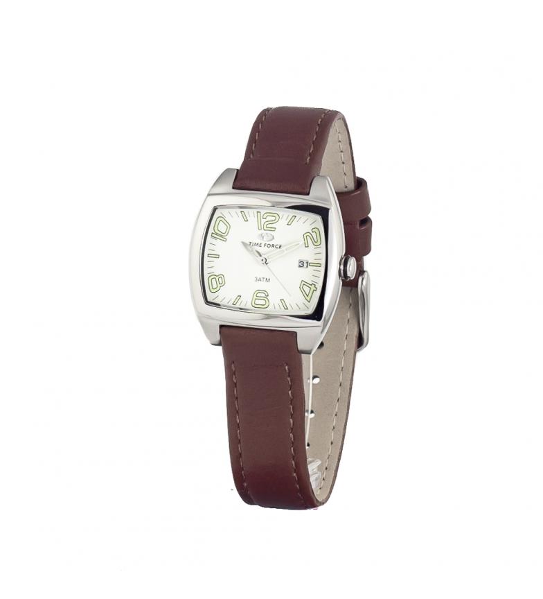 Comprar Time Force Analog clock TF2588L-02 brown