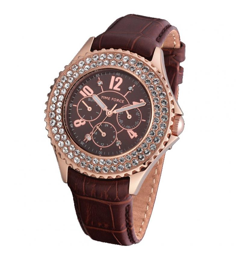 Comprar Time Force Montre chronographe analogique TF3299L14 marron