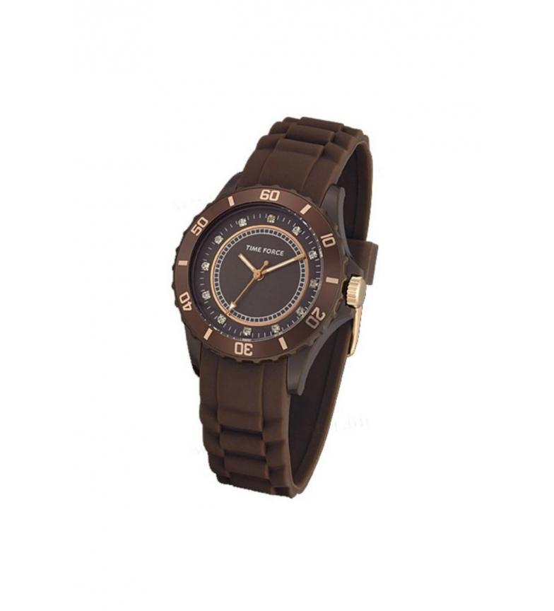 Comprar Time Force Analog clock TF4024L15 brown