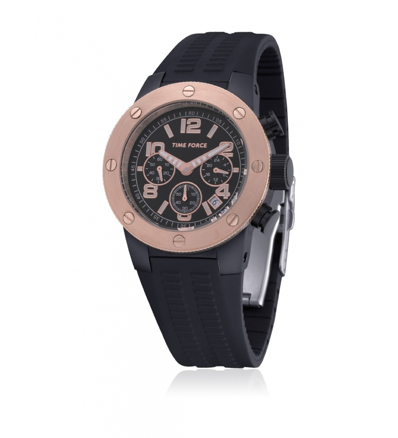 Comprar Time Force Analog clock TF4004M15 black