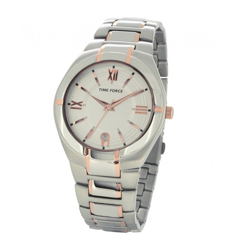 Comprar Time Force Reloj analógico TF4172M11M plata