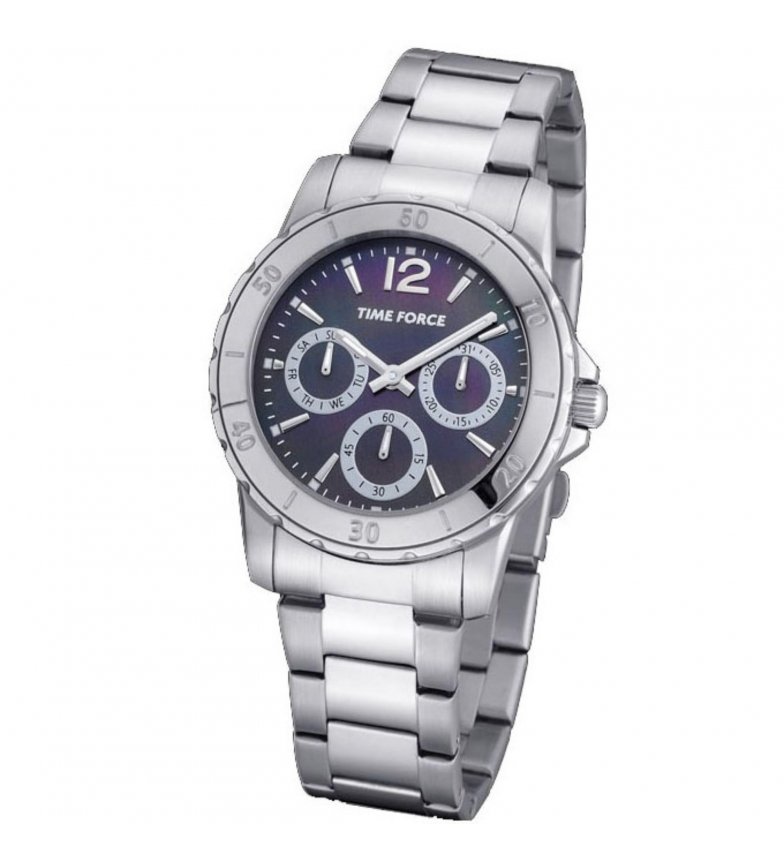 Comprar Time Force Relógio cronógrafo analógico TF4191L08M prata