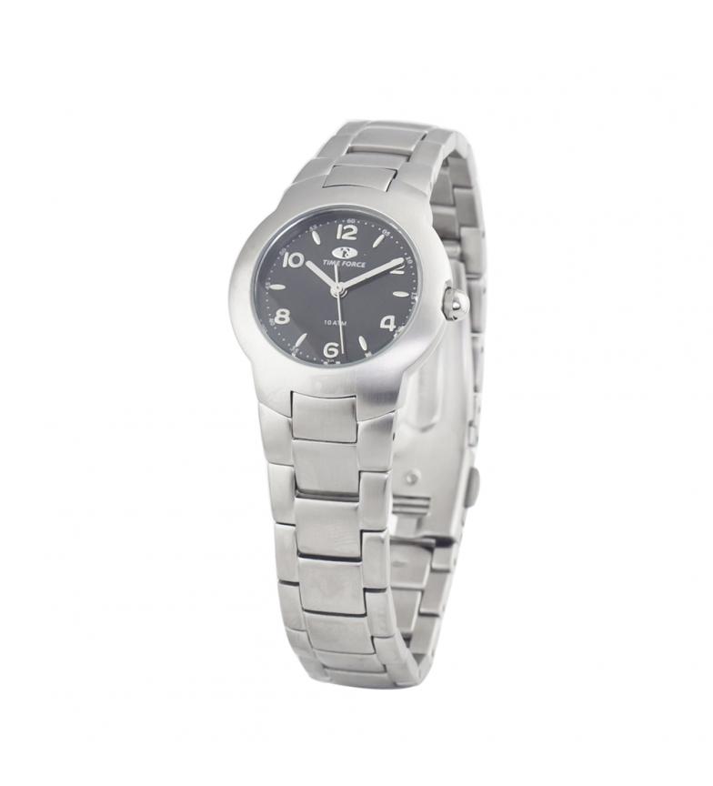 Comprar Time Force Relógio analógico TF2287L-01M banhado a prata