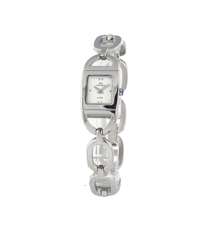 Comprar Time Force Relógio analógico TF2619L-03M-1 banhado a prata