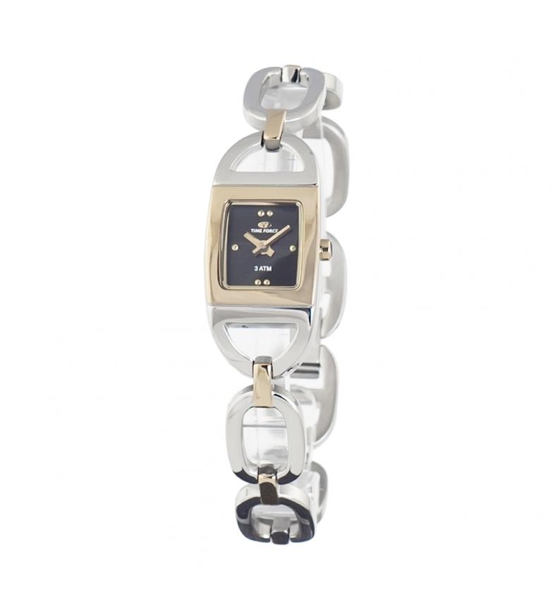 Comprar Time Force Relógio analógico TF2619L-06M-1 banhado a prata