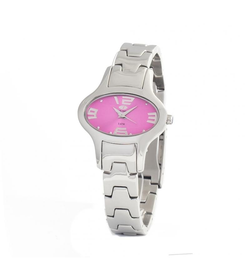 Comprar Time Force Relógio analógico TF2635L-02M-1 banhado a prata