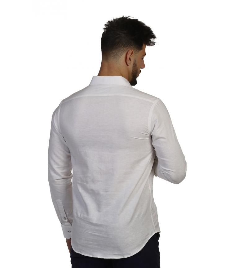 Time Bocha Camisa Of Polera Blanco ZPkXiu