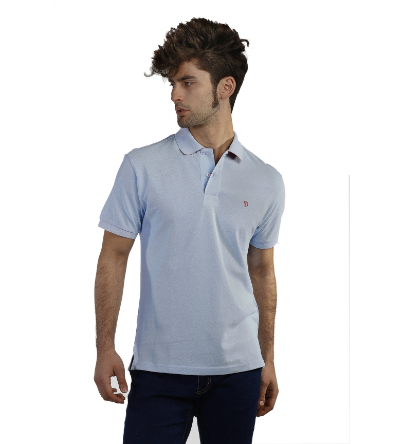 Celeste Polo Bsico Bocha Time Of Tl1uFKc35J