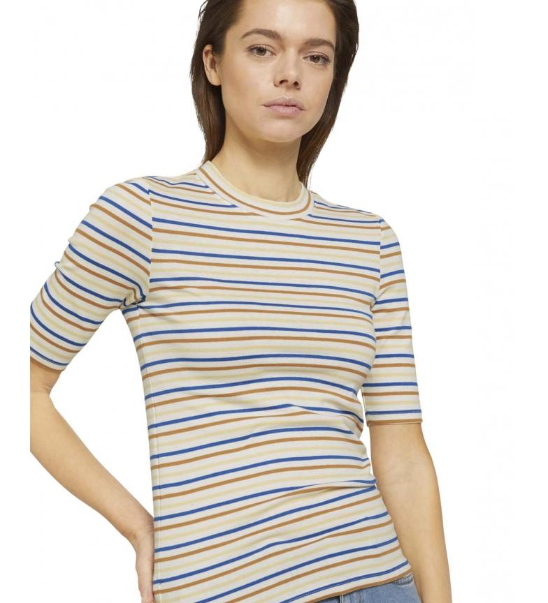 Comprar Tom Tailor Camiseta Cuello redondo multicolor