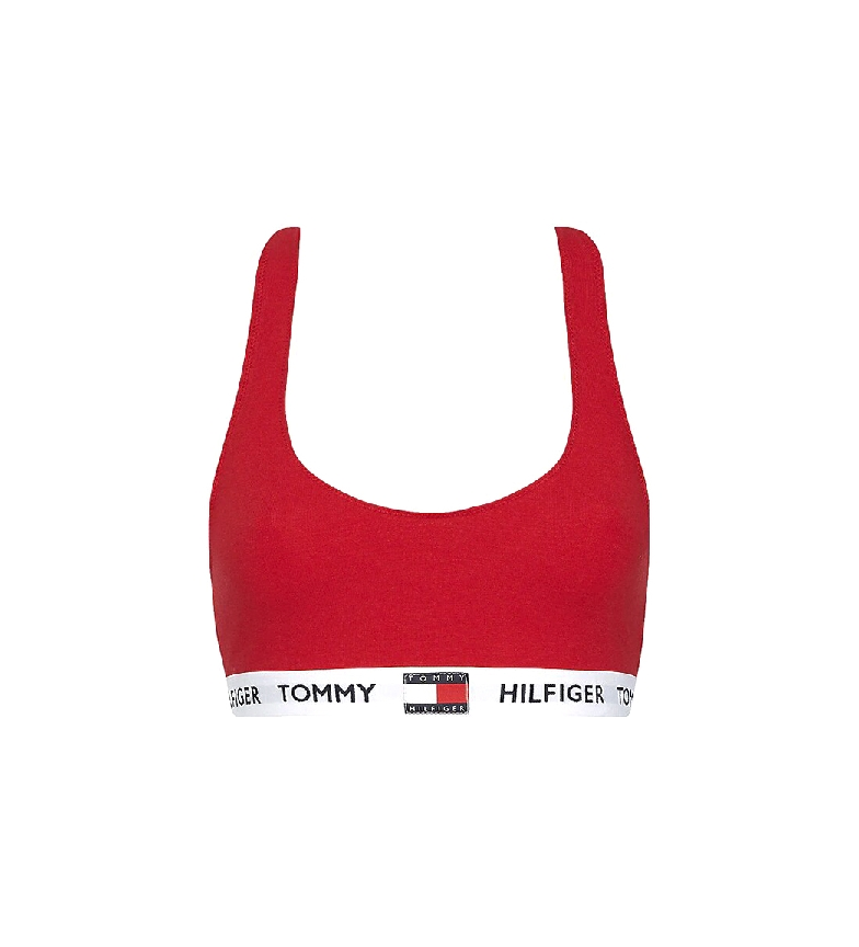 Comprar Tommy Hilfiger Organic Cotton Bralette red