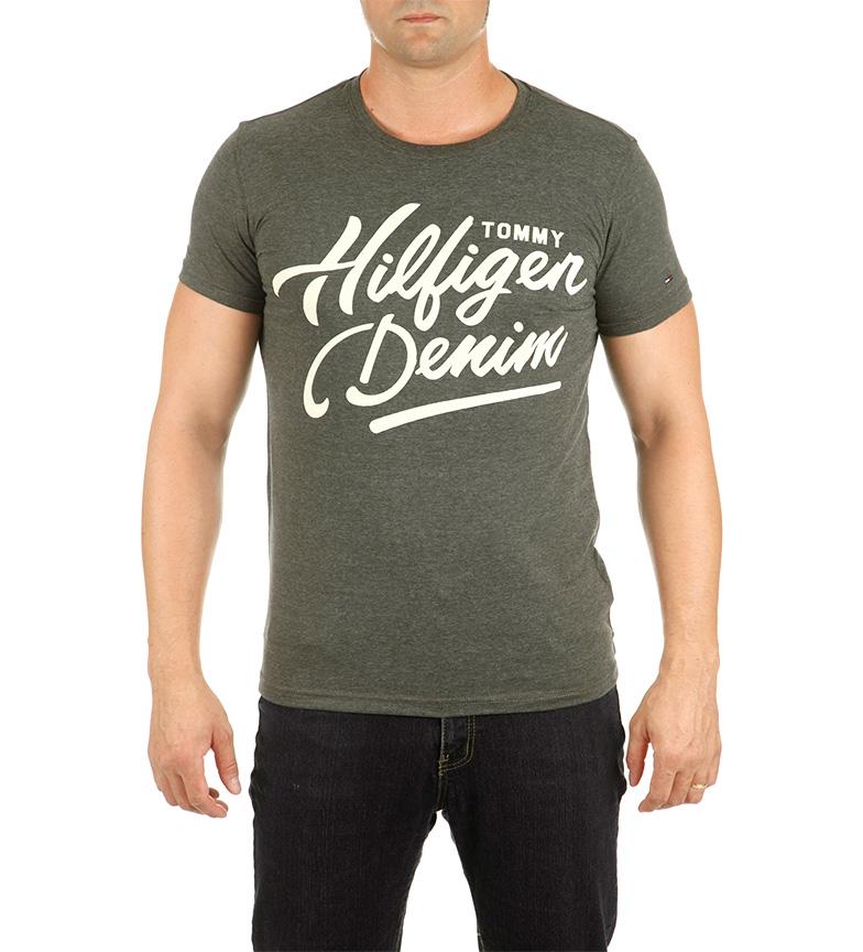 0298bfe036f7b Comprar Tommy Hilfiger Camiseta Tommy Hilfiger kaki - Es De Marca ...