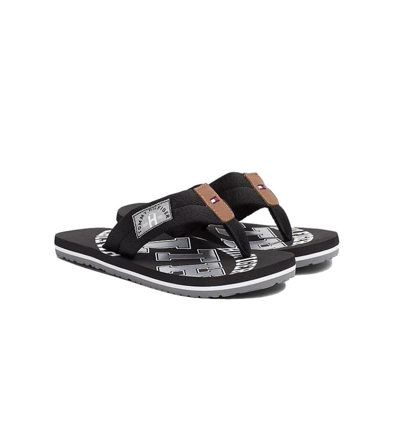 Comprar Tommy Hilfiger Tongs Essential TH Beach noir