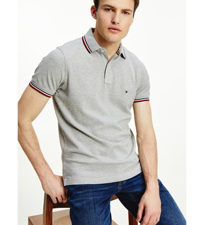 Comprar Tommy Hilfiger Core Tipped Slim grey polo shirt