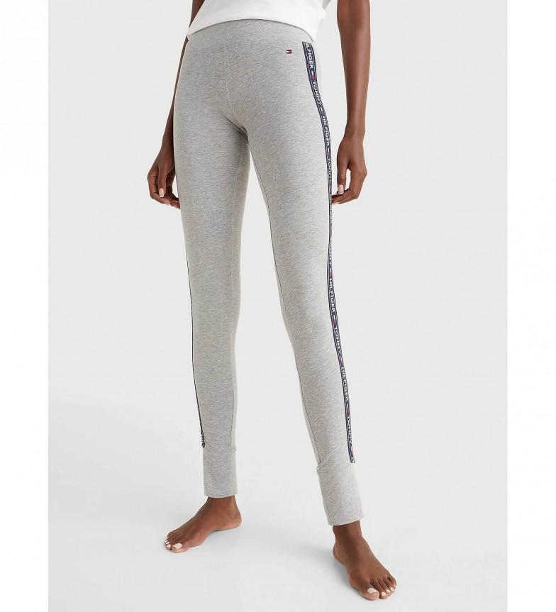 Tommy Hilfiger Leggings Side Logo grigio