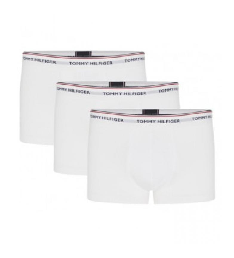 Tommy Hilfiger Pack de 3 Boxers LR Trunk blanco