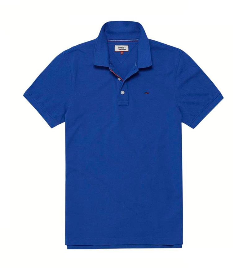 Comprar Tommy Hilfiger Polo slim Tom azul