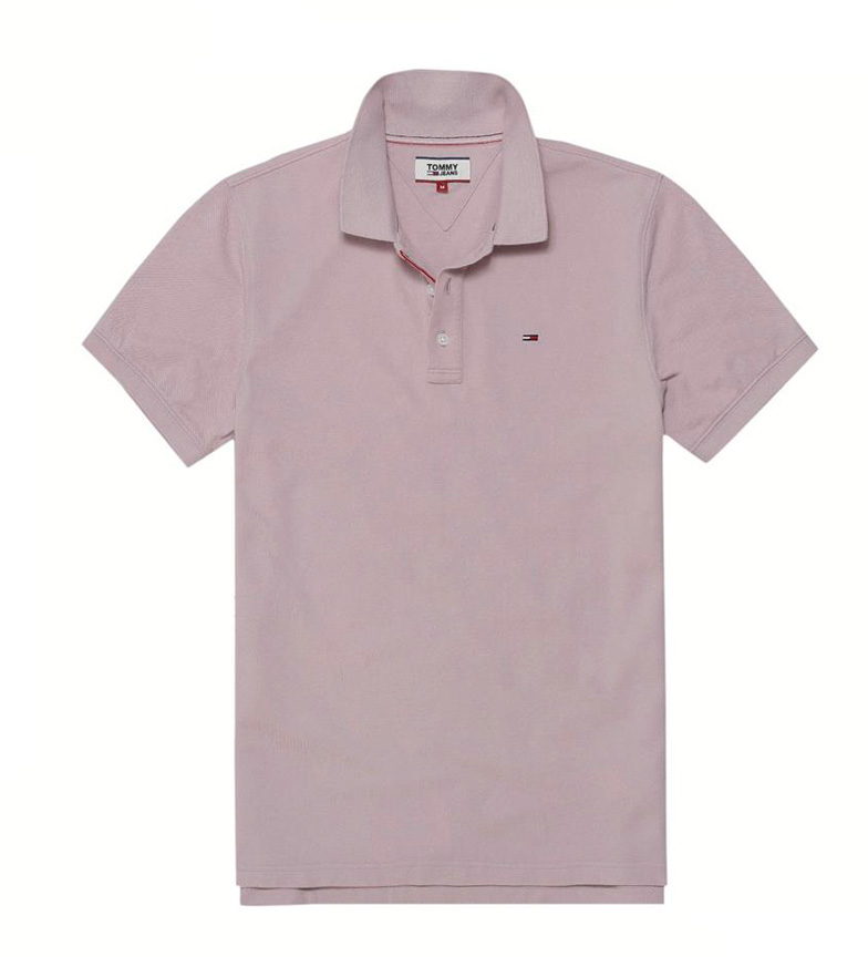 Comprar Tommy Hilfiger Polo slim Tom violeta suave