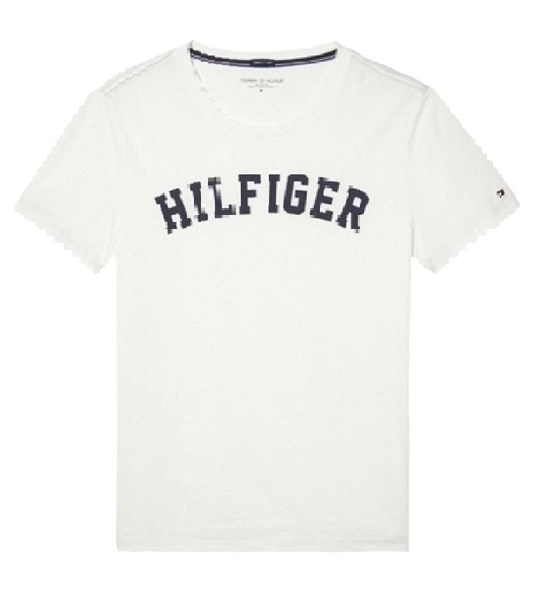 Comprar Tommy Hilfiger T-shirt SS Logo blanc