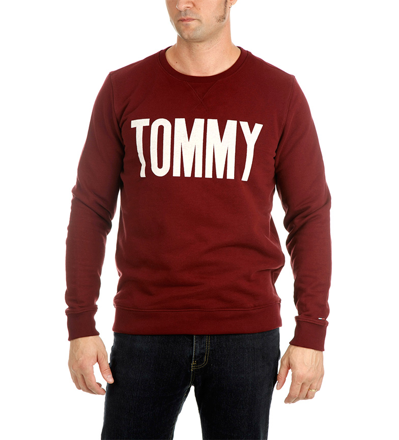 Comprar Tommy Hilfiger Sudadera Tommy Hilfiger granate