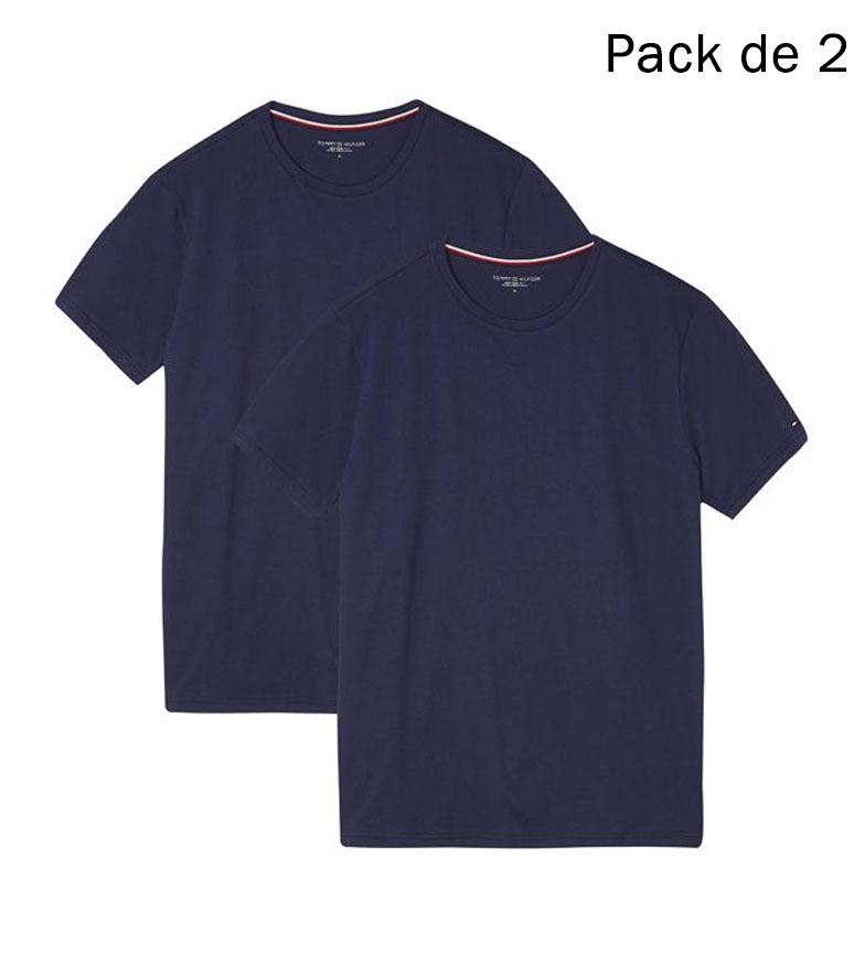 Comprar Tommy Hilfiger Pack de 2 Camisetas Tommy Hilfiger marino