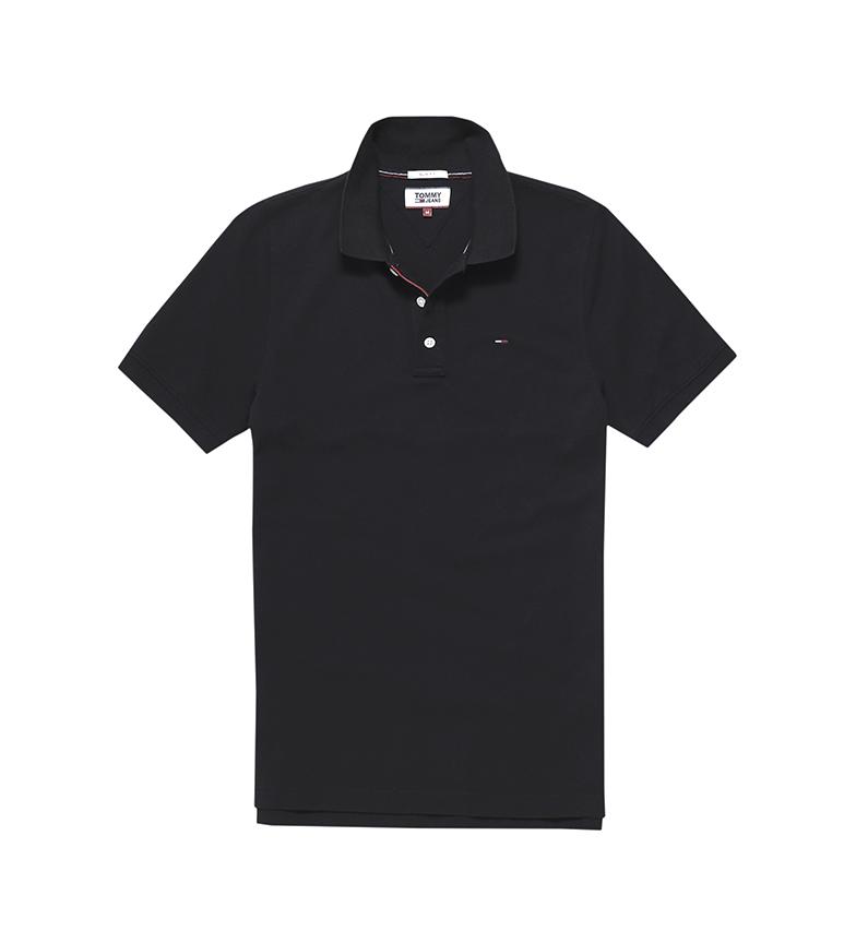 Comprar Tommy Hilfiger TJM Original Fine Pique camisa pólo preto