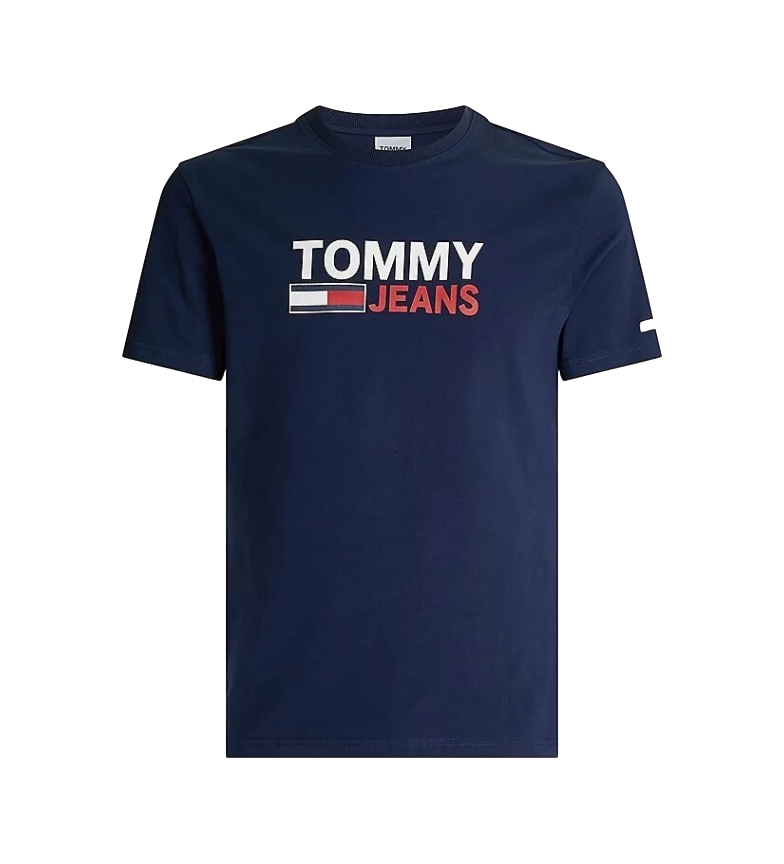 Comprar Tommy Hilfiger TJM T-shirt Skinny Corp navy
