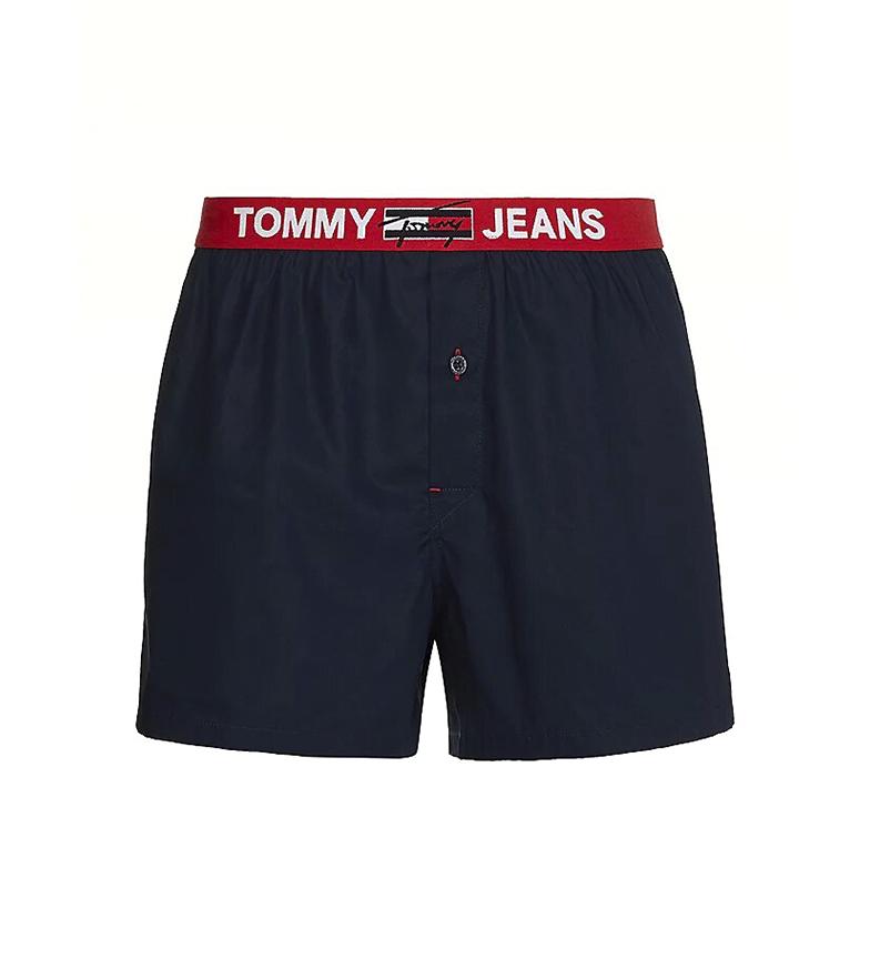 Comprar Tommy Hilfiger Boxer in cotone intrecciato blu scuro
