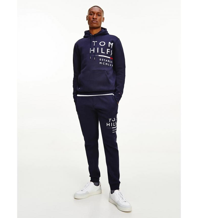 Tommy Hilfiger Wrap Around Graphic Sweatshirt navy