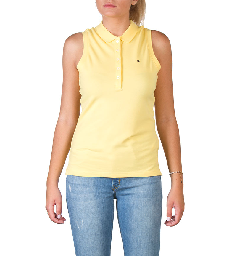 Comprar Tommy Hilfiger Polo Tommy Hilfiger giallo