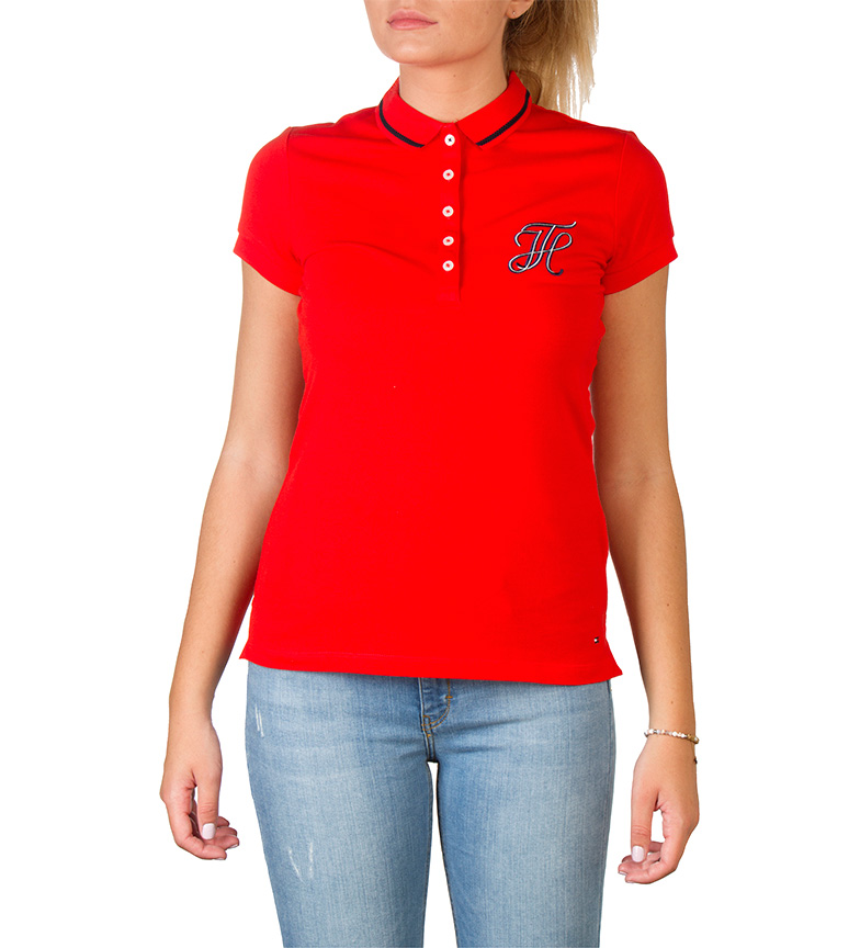 Comprar Tommy Hilfiger Polo Tommy Hilfiger red