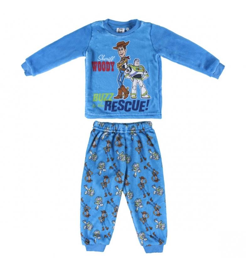Comprar Disney & Friends Pijamas Longos Coral Fleece Toy Toy História Azul