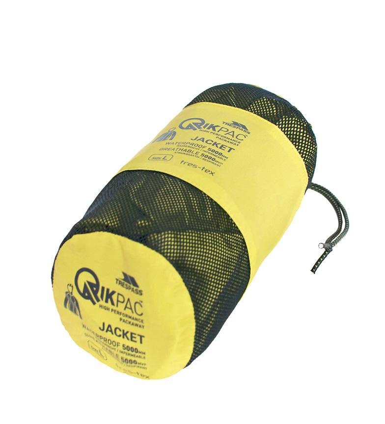 Overtredelse Chaqueta Qikpac Packaway Jkt -tp75- Amarillo salg utforske nytt for salg bestselger YBG88