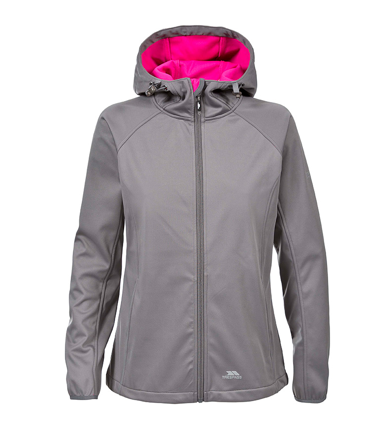 Trespass Chaqueta impermeable Sisely Softshell -TP75- gris