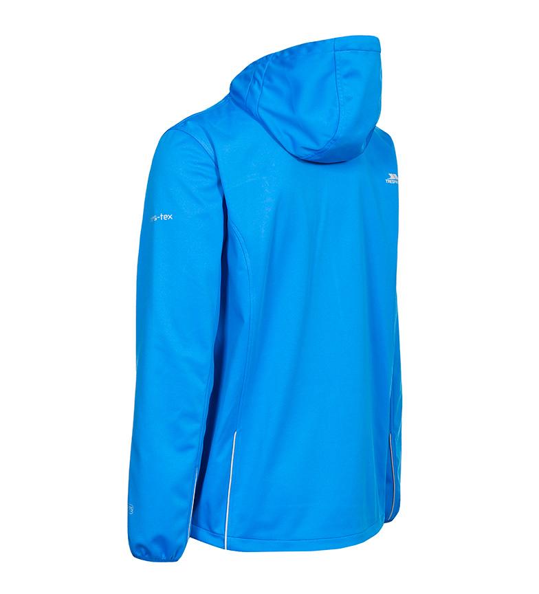 Trespass Chaqueta Zeek SoftShell TP75- azul