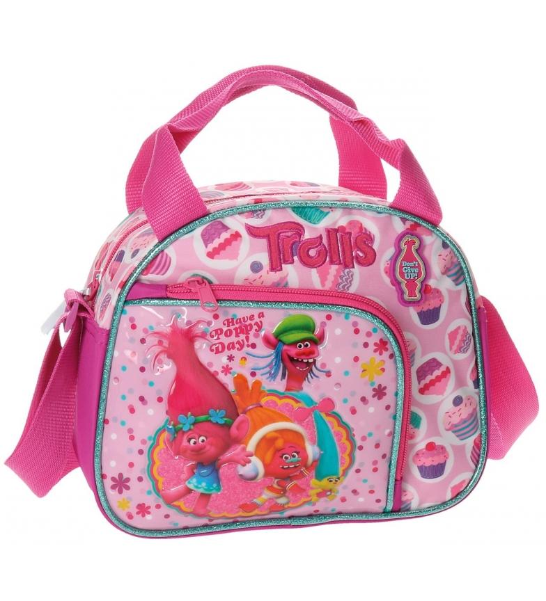 Comprar Trolls Tracolla borsa da toilette adattabile a trolley Trolls Felice rosa