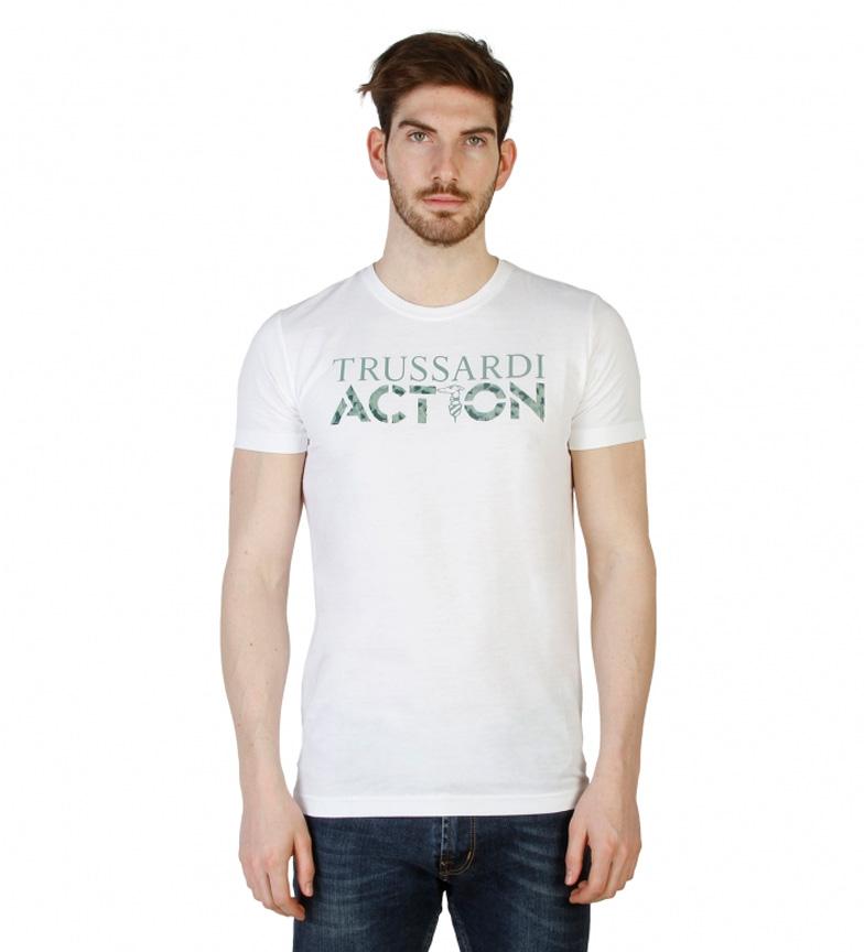 Trussardi Camiseta m/c azul