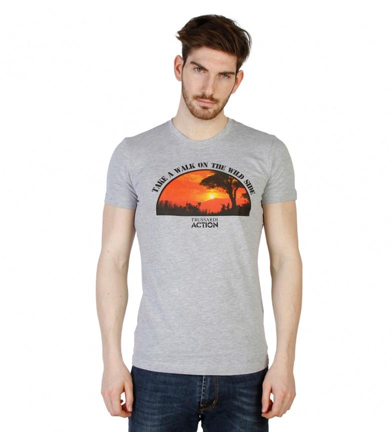 Trussardi Camiseta m/c blanco