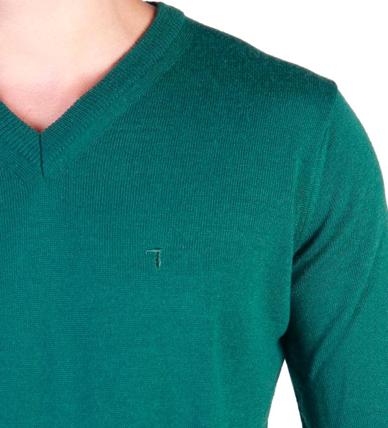 Trussardi Jersey c/pico verde