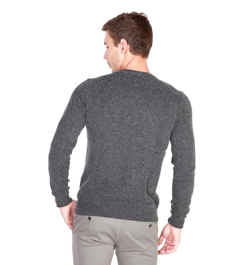 Trussardi Jersey cuello redondo gris oscuro