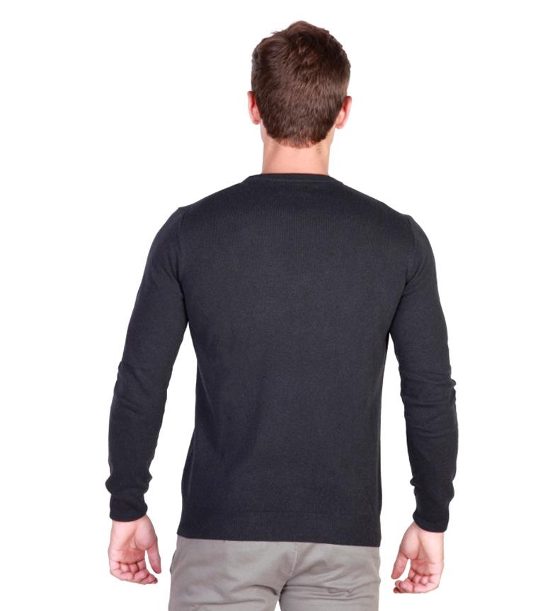 Trussardi Jersey cuello redondo negro