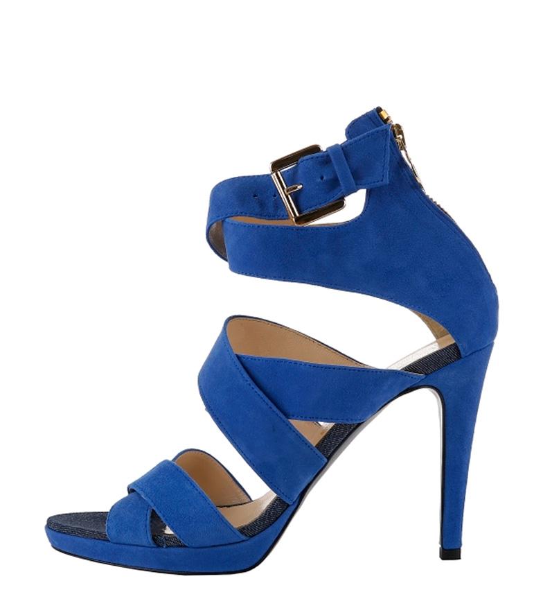 Sandalias Altura Sandalias Trussardi 11cm tacón azul azul Altura Trussardi pzdqgF5Kw
